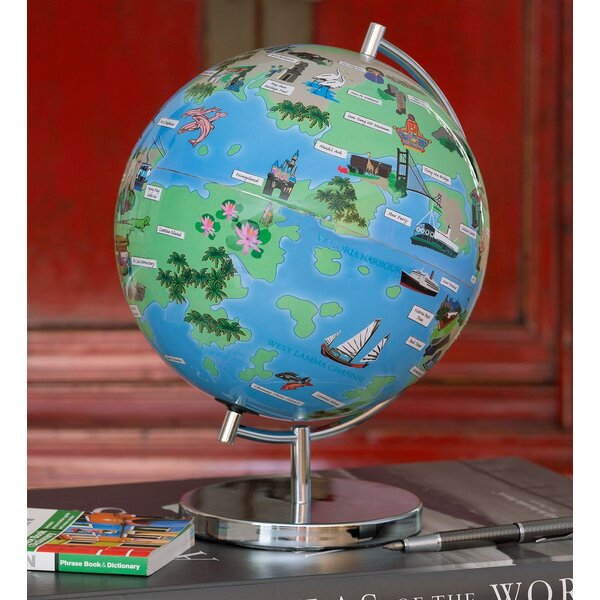 Hong Kong Night Lights Globe by Waypoint Geographic