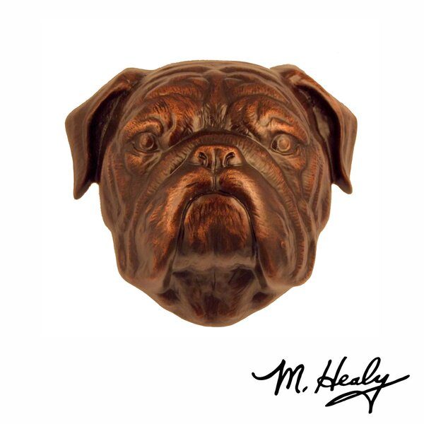 Bulldog Door Knocker by Michael Healy Designs