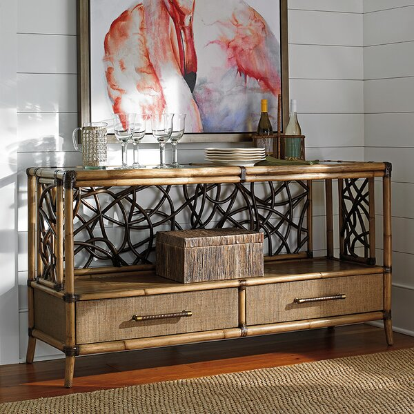 Price Sale Twin Palms Console Table