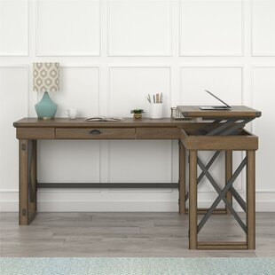 Best Price Gladstone L-Shape Standing Desk By Laurel Foundry Modern Farmhouse