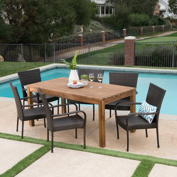 Mangus 7 Piece Extendable Dining Set by Union Rustic