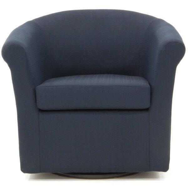 Moldenhauer Swivel Barrel Chair by Ebern Designs Ebern Designs