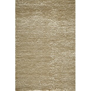 Great Price Thaddeus Hand-Woven White Area Rug By Bloomsbury Market