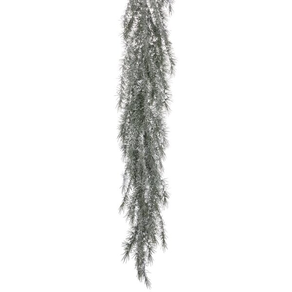 Snowy Weeping Pine Garland by The Holiday Aisle