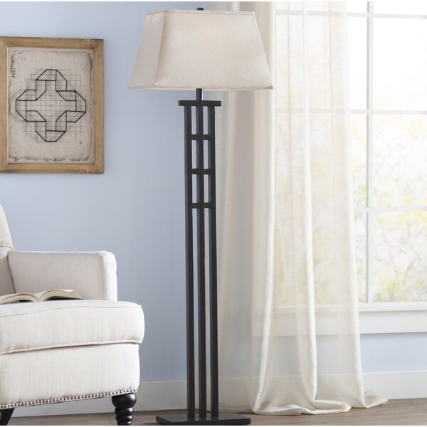 Haney 58 Floor Lamp by World Menagerie