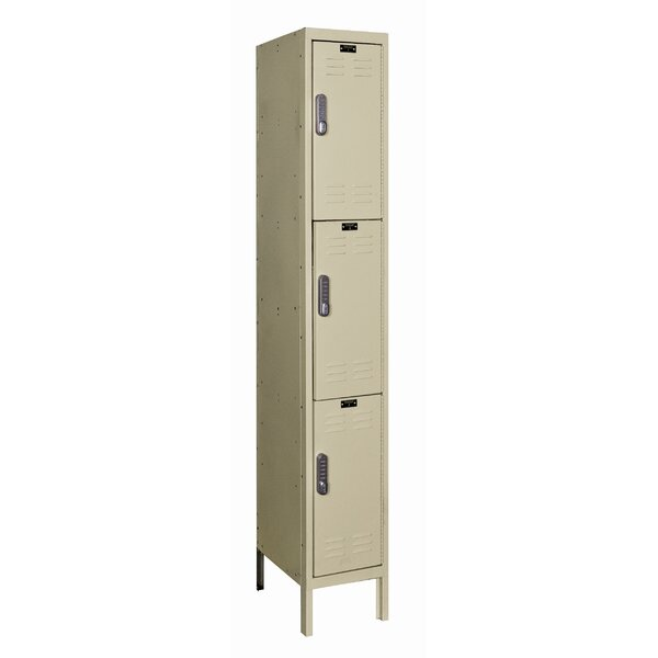 DigiTech 3 Tier 1 Wide School Locker by Hallowell