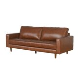 Suede Leather Couch | Wayfair
