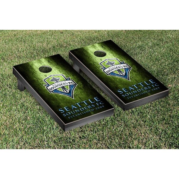 MLS Metal Version Cornhole Game Set by Victory Tailgate