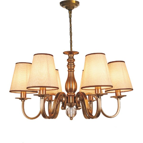 Lanora 6-Light Shaded Classic / Traditional Chandelier by Astoria Grand Astoria Grand