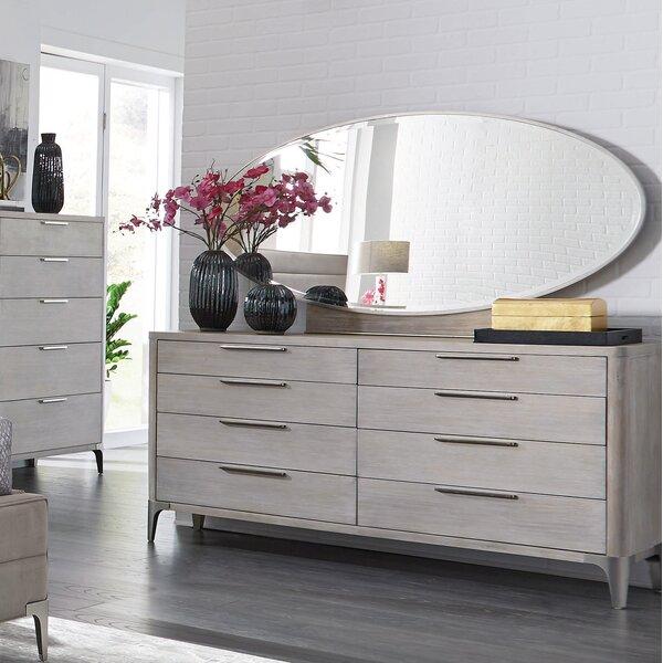 Anadarko 8 Drawer Double Dresser with Mirror by Ivy Bronx