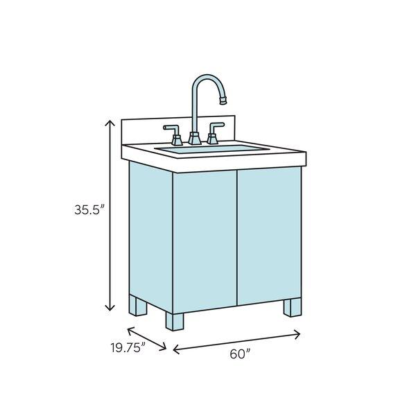 Nederland 60 Single Bathroom Vanity Set