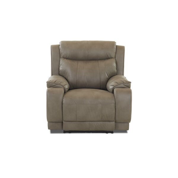 Rutz Power Recliner by Charlton Home