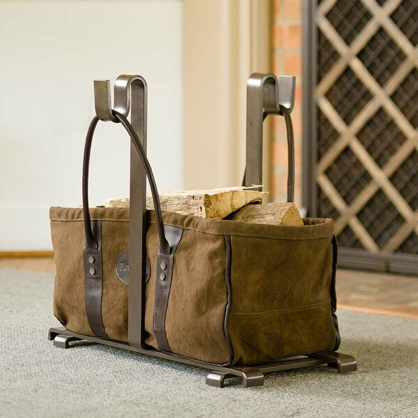 Heavy Duty Canvas Log Carrier by Plow & Hearth