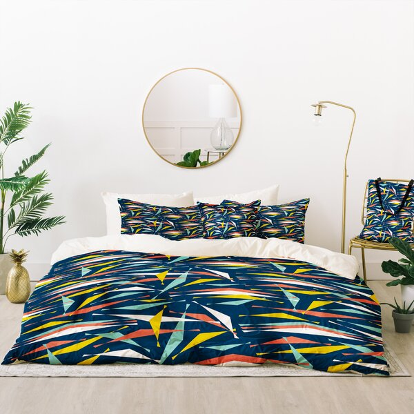 Heather Dutton Swizzlestick Party Duvet Cover Set