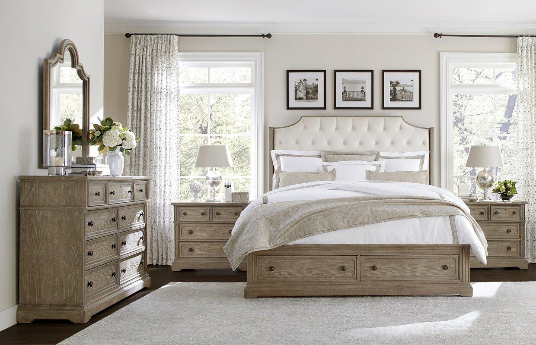 Wethersfield Estate Upholstered Configurable Bedroom Set