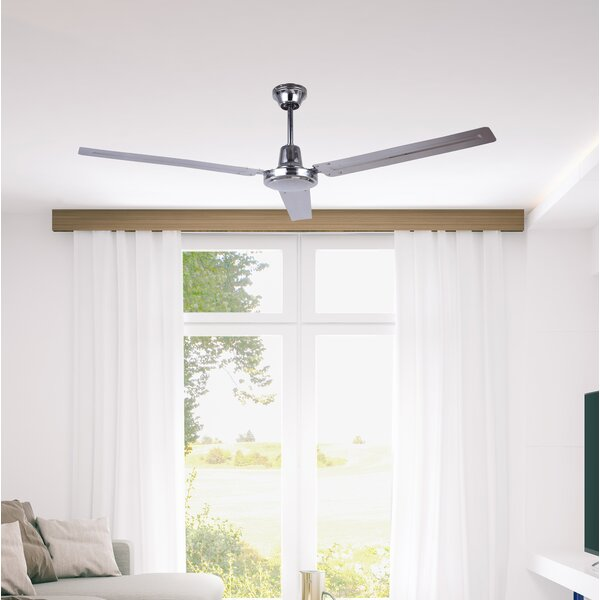 56 Boan 3 Blade Ceiling Fan by Mercury Row