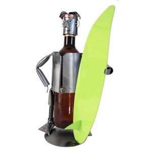 Surfer 1 Bottle Tabletop Wine Rack by H & K SCULPTURES
