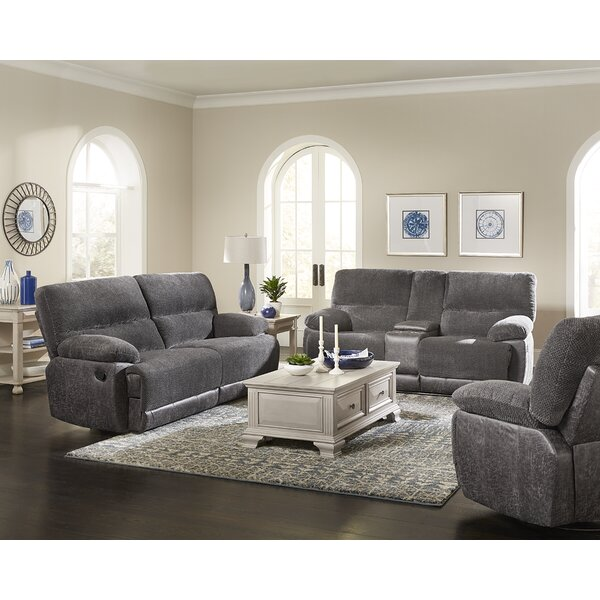 Caldwell Reclining Configurable Living Room Set by Ebern Designs