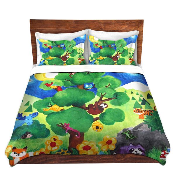 Tree Of Wildlife Duvet Cover Set