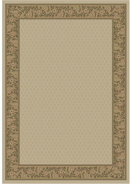 Jewel Harmony Ivory Area Rug by Threadbind