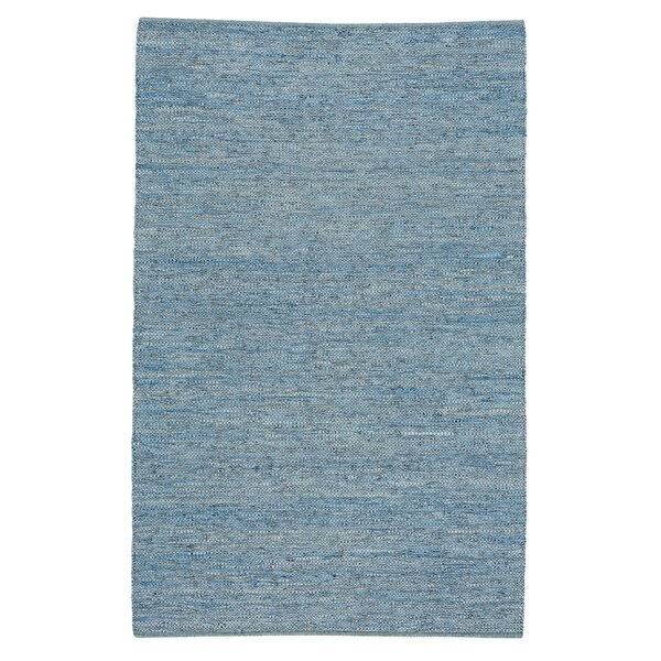 Kandi Flat Blue Area Rug by Highland Dunes