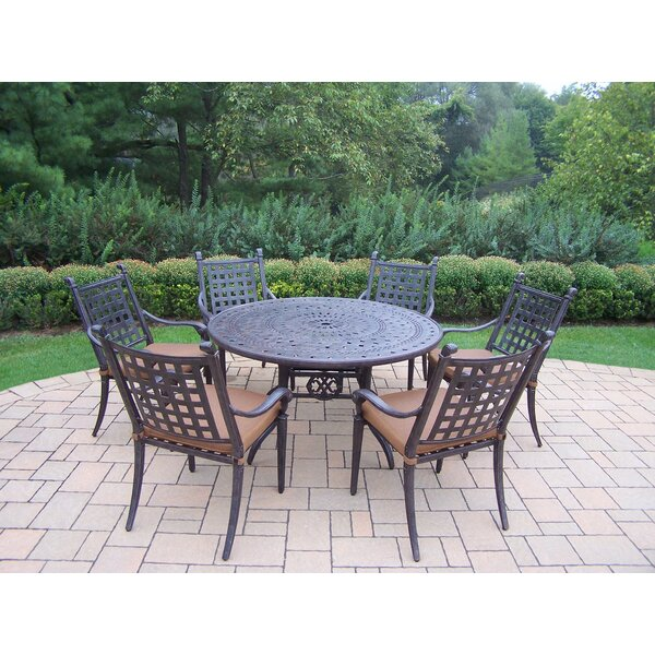 Arness 10 Piece Bar Height Dining Set