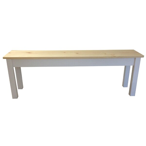 Jarrard Wood Bench by Highland Dunes