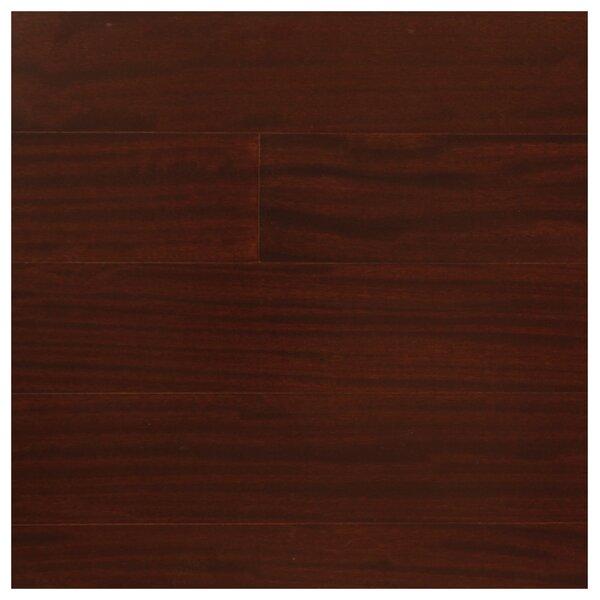3 Engineered Pacific Mahogany Hardwood Flooring in Burgundy by Easoon USA