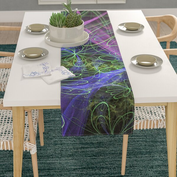 Alison Coxon Floral Garden Table Runner by East Urban Home