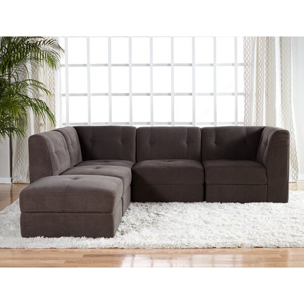 Edgartown Modular Sectional With Ottoman By Three Posts Best #1