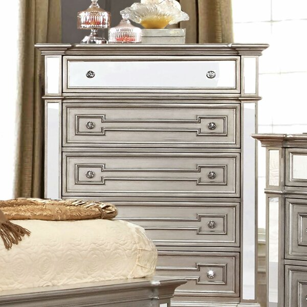 Amberly 5 Drawer Chest by House of Hampton