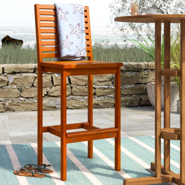 Monterry 32 Patio Bar Stool by Beachcrest Home