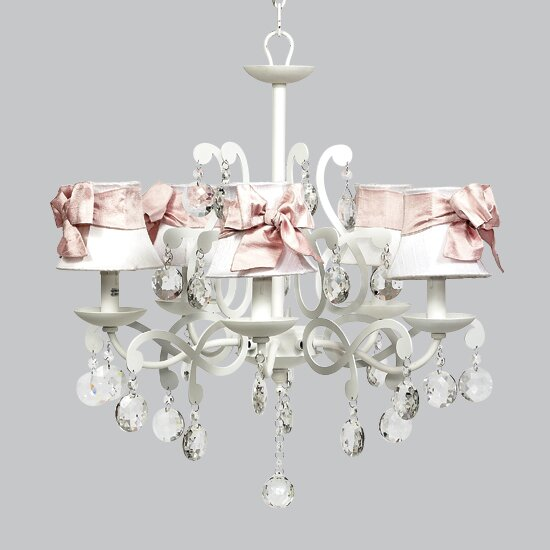 Elegance 5-Light Shaded Chandelier by Jubilee Collection