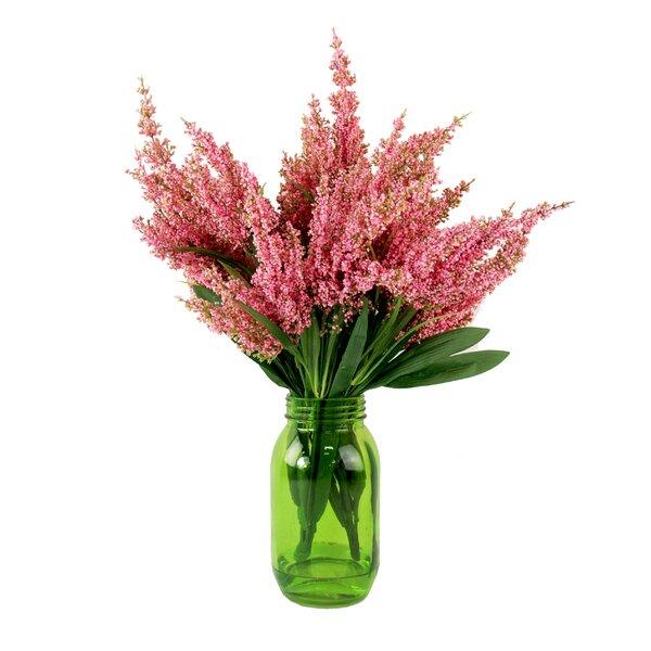 Heather Mason Jar Floral by Laurel Foundry Modern Farmhouse