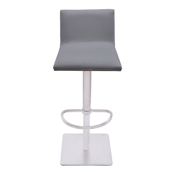 Bonetti Adjustable Height Swivel Bar Stool by Orren Ellis