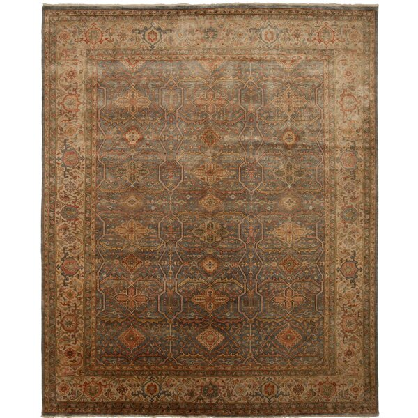 Tata Hand-Knotted Beige Area Rug