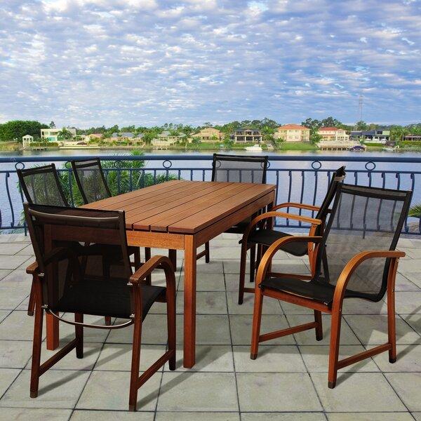 Riemann International Home Outdoor 7 Piece Dining Set by Brayden Studio