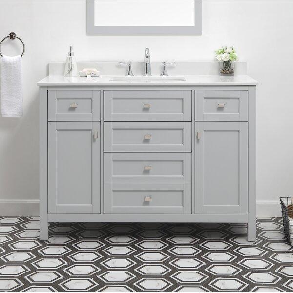 Benito 48 Single Bathroom Vanity Set by Highland Dunes