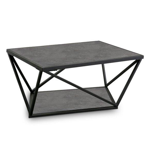 Digeni Floor Shelf Coffee Table With Storage By Brayden Studio