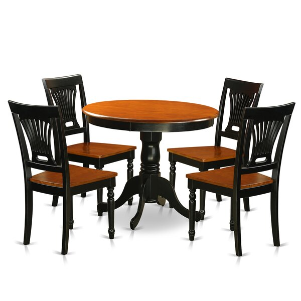 Fresh 5 Piece Dining Set By East West Furniture Read Reviews