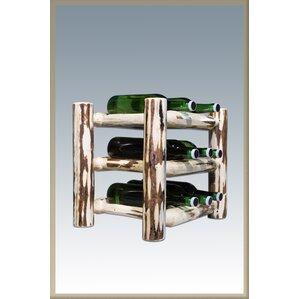 Abordale 9 Bottle Tabletop Wine Rack by Loon Peak