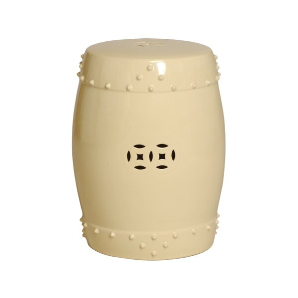 Engelhardt Large Drum Garden Stool by Darby Home Co Darby Home Co