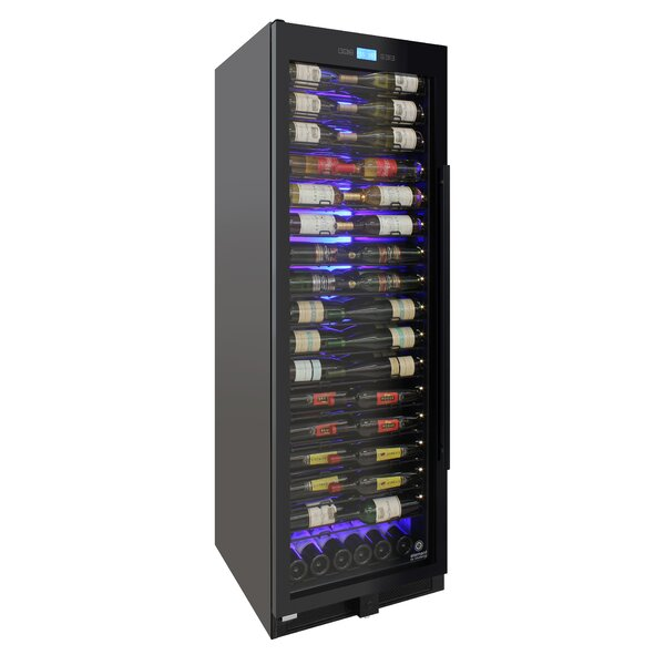 141 Bottle Single Zone Freestanding/Built-In Wine Cellar By Vinotemp