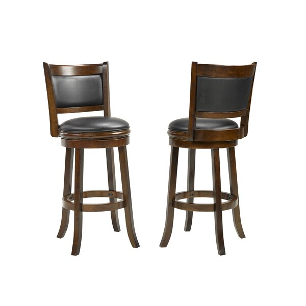 Torr 29 Swivel Bar Stool (Set of 2) by Red Barrel Studio