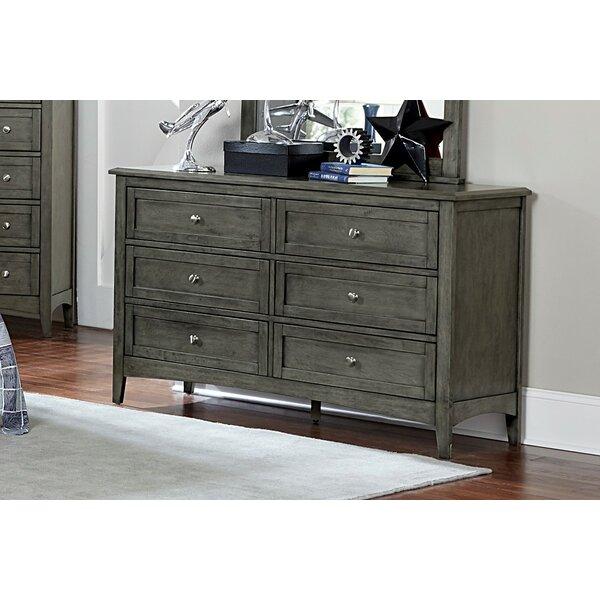 Nadell 6 Drawer Dresser by Charlton Home