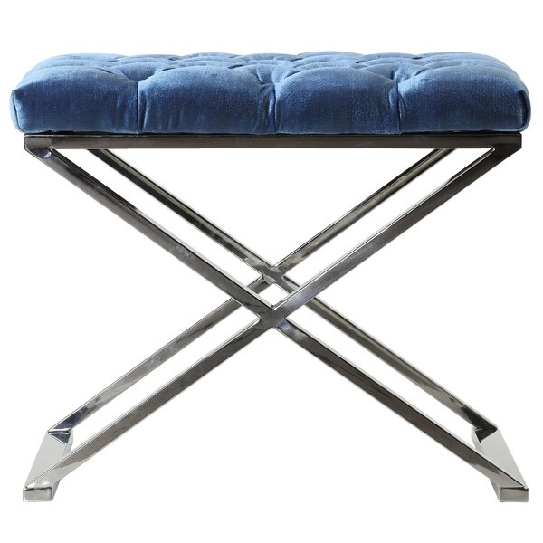 Tuveson Tufted Ottoman By Orren Ellis Coupon