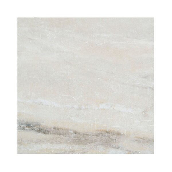 Pearl 12 x 12 Porcelain Field Tile in Almond by Casa Classica