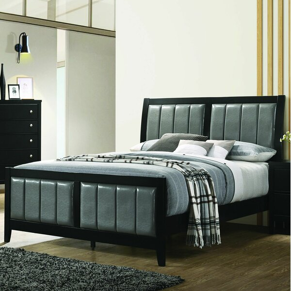 DeHond Nautilus Upholstered Standard Bed by Winston Porter