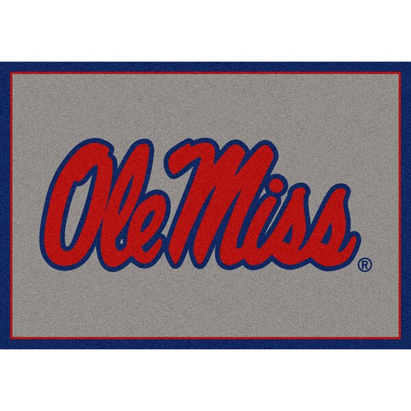Collegiate University of Mississippi Rebels Doormat by My Team by Milliken