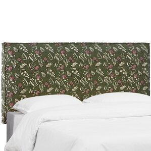 Mariela Seam Slipcover Debris Floral Upholstered Panel Headboard by Brayden Studio
